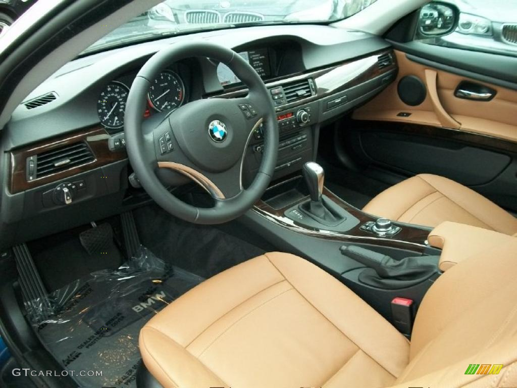 saddle brown dakota leather interior 2011 bmw 3 series 328i xdrive coupe photo 38040382. Black Bedroom Furniture Sets. Home Design Ideas