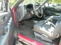 Graphite 2003 Chevrolet S10 Interiors