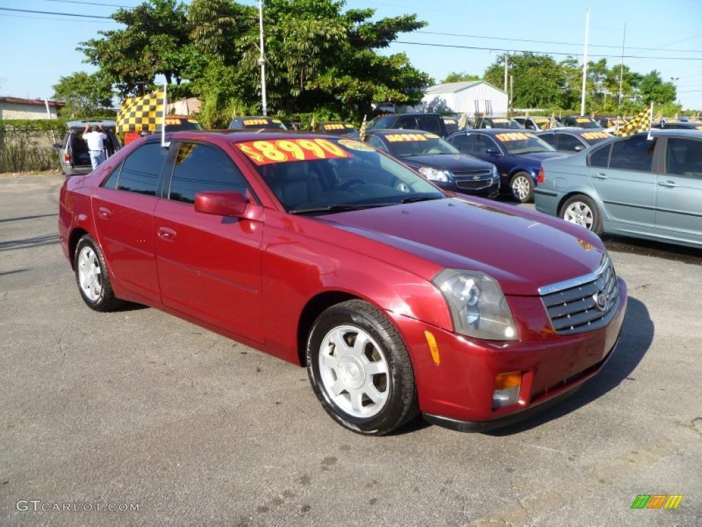 2004 red line cadillac cts sedan 38010531 car color galleries. Black Bedroom Furniture Sets. Home Design Ideas