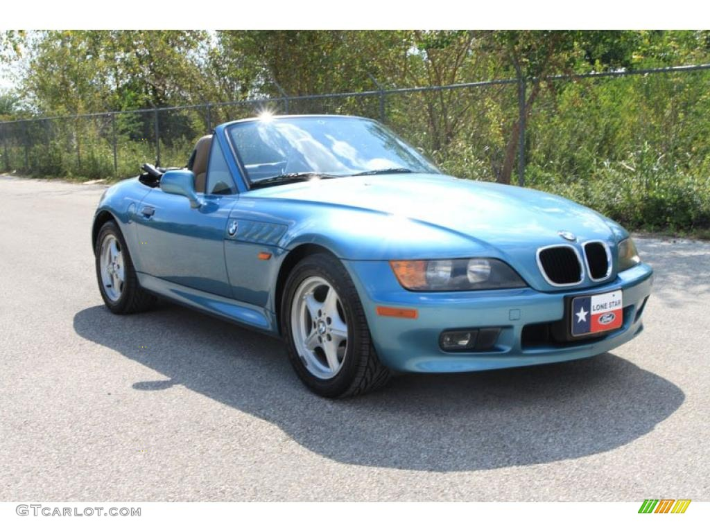 1996 Atlanta Blue Metallic Bmw Z3 1 9 Roadster 38009724
