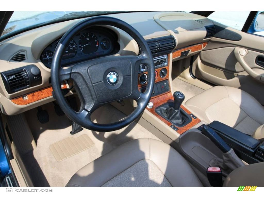 Tan Interior 1996 Bmw Z3 1 9 Roadster Photo 38052494