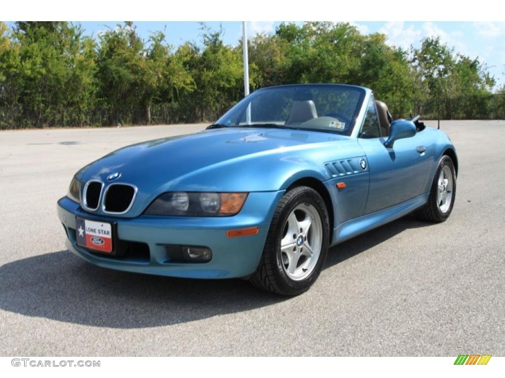 Atlanta Blue Metallic 1996 Bmw Z3 1 9 Roadster Exterior