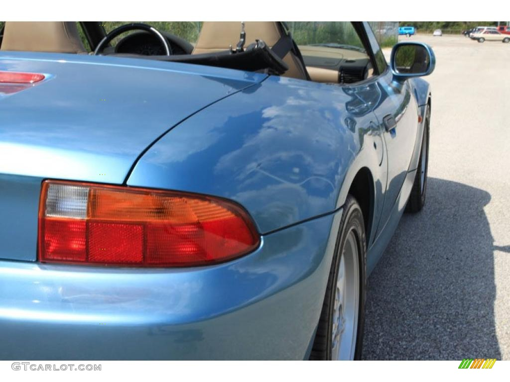 1996 z3 19 roadster atlanta blue metallic tan photo 12 atlanta blue metallic 1996