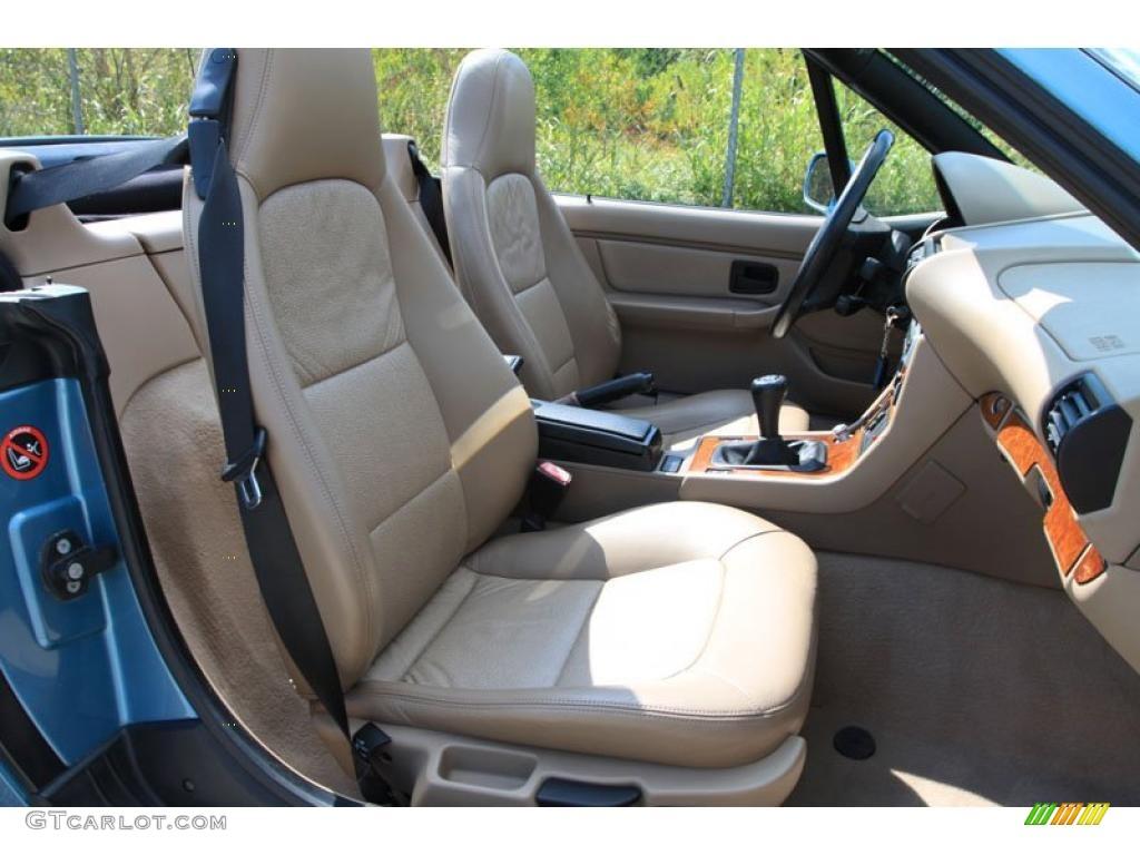 Tan Interior 1996 Bmw Z3 1 9 Roadster Photo 38052794