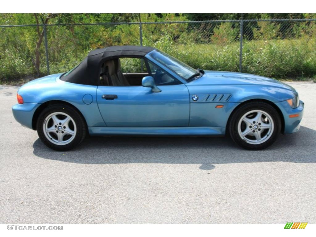 1996 z3 19 roadster atlanta blue metallic tan photo 24 atlanta blue metallic 1996
