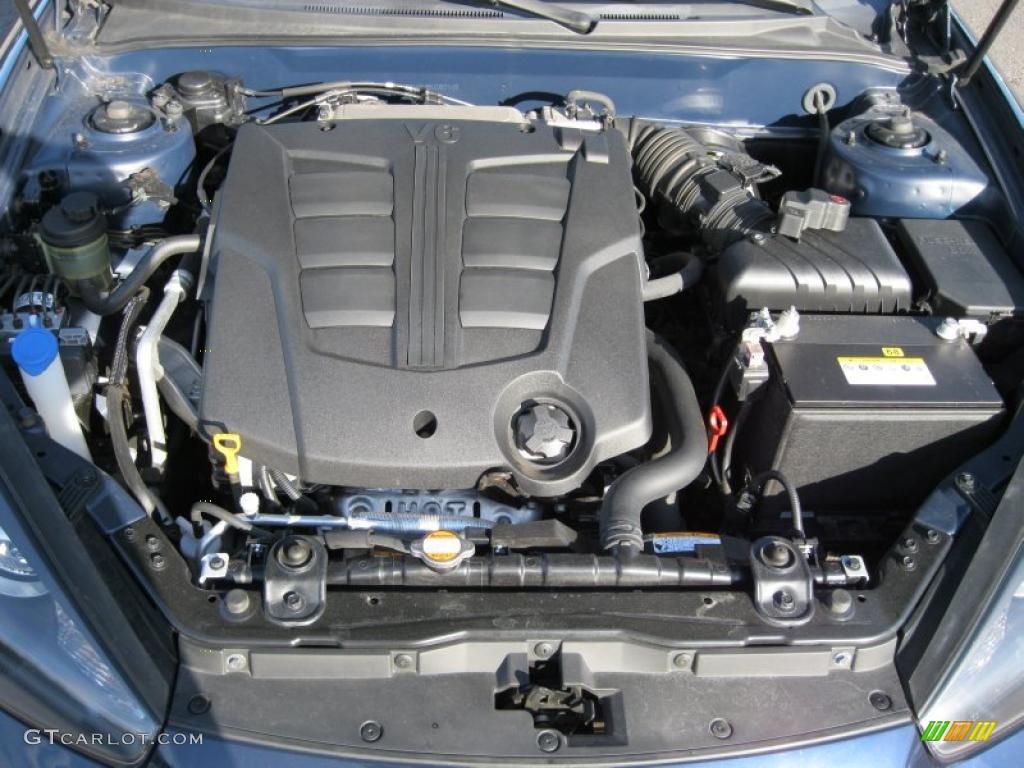 2008 Hyundai Tiburon GT 2.7 Liter DOHC 24-Valve V6 Engine Photo #38053650