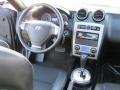 GT Black Leather/Black Sport Grip 2008 Hyundai Tiburon GT Dashboard
