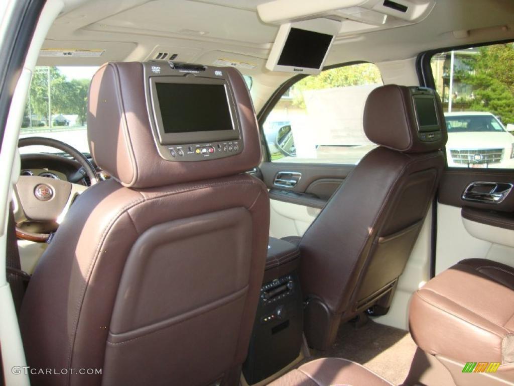 Cocoa Light Linen Tehama Leather Interior 2011 Cadillac Escalade Platinum Awd Photo 38058724