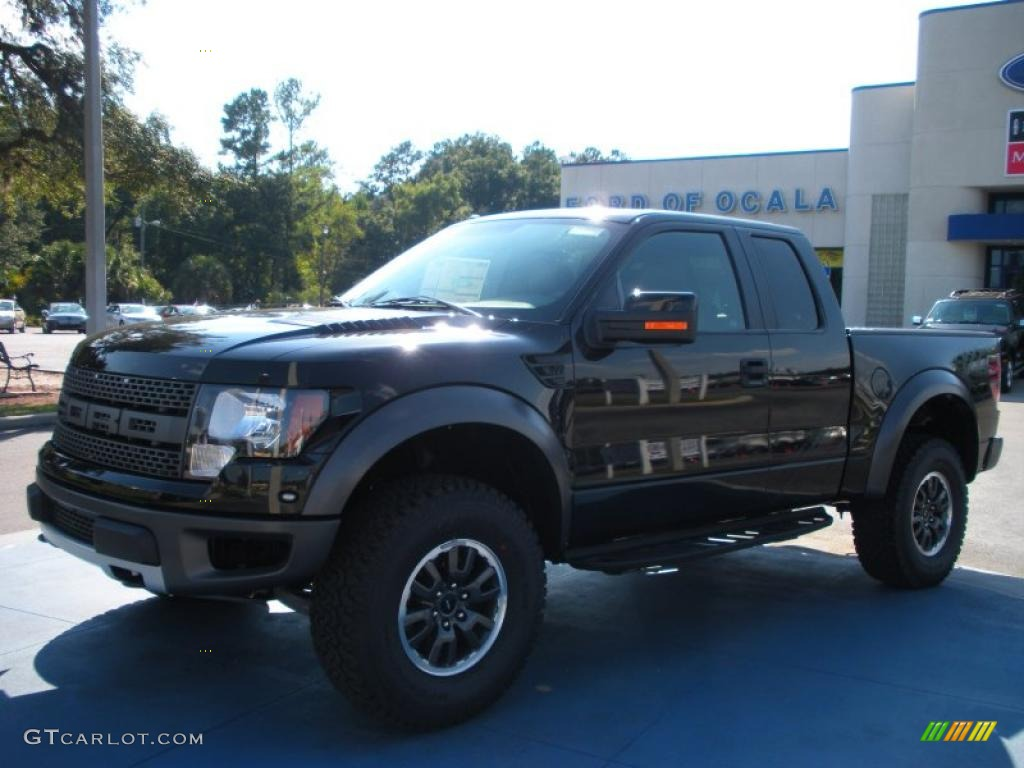 2010 f150 svt raptor supercab 4x4 tuxedo black raptor black photo 1