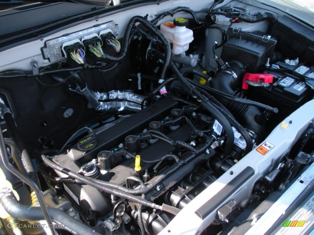 2 5 duratec v6 engine diagram 2011 ford escape xlt 2.5 liter dohc 16-valve duratec 4 cylinder engine photo #38062127 ...