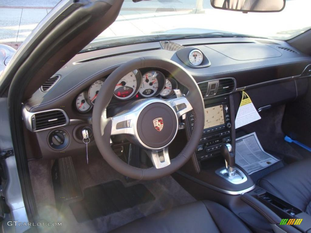 cocoa interior 2011 porsche 911 carrera s cabriolet photo 38065632. Black Bedroom Furniture Sets. Home Design Ideas