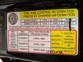 Info Tag of 2007 Sportage LX V6 4WD