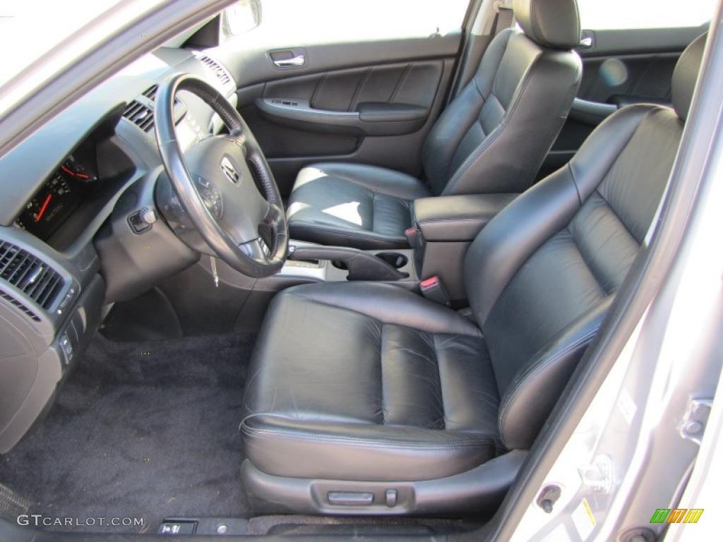 black interior 2003 honda accord ex sedan photo 38085188. Black Bedroom Furniture Sets. Home Design Ideas