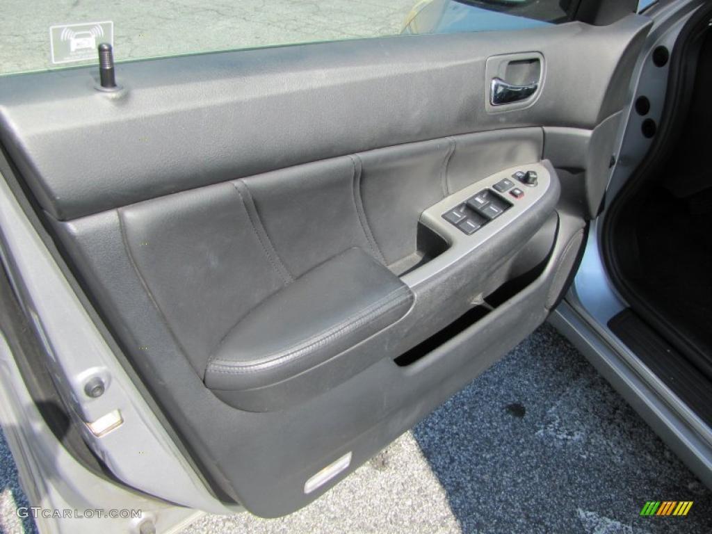 black interior 2003 honda accord ex sedan photo 38085211. Black Bedroom Furniture Sets. Home Design Ideas