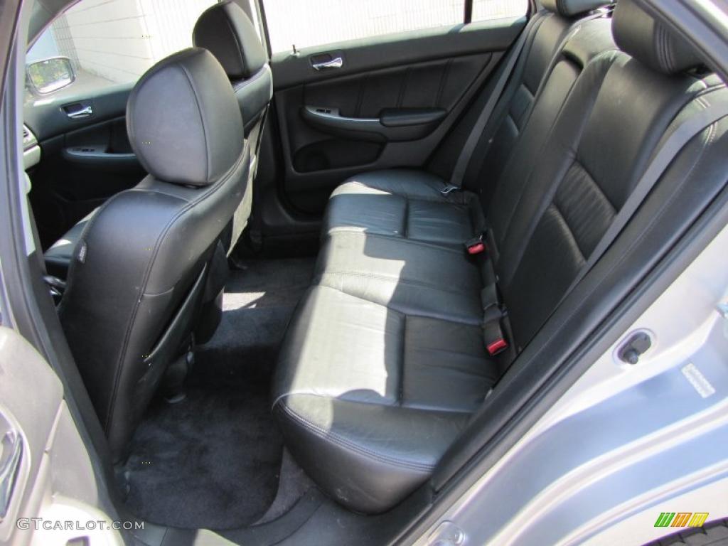 black interior 2003 honda accord ex sedan photo 38085221. Black Bedroom Furniture Sets. Home Design Ideas