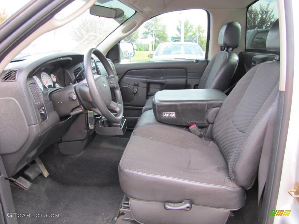 dark slate gray interior 2004 dodge ram 1500 st regular. Black Bedroom Furniture Sets. Home Design Ideas