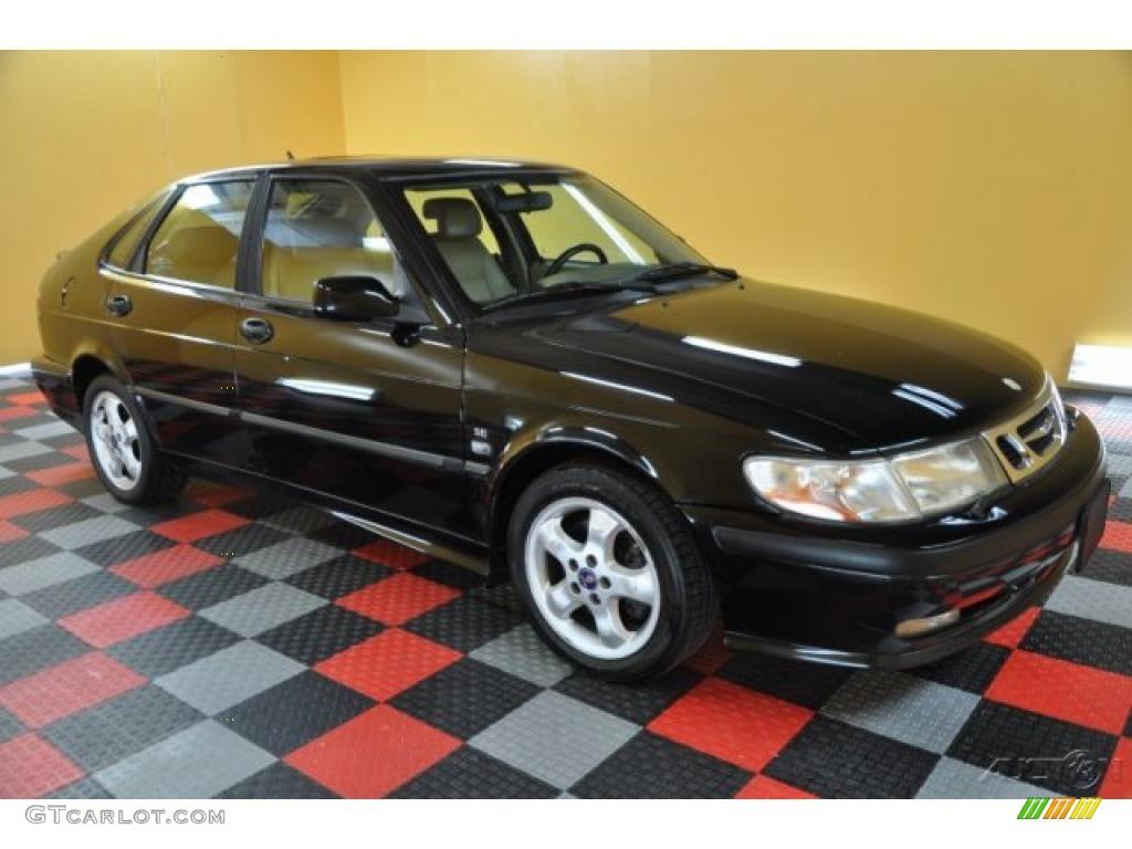 2001 black saab 9 3 se sedan 38076731 car color galleries. Black Bedroom Furniture Sets. Home Design Ideas