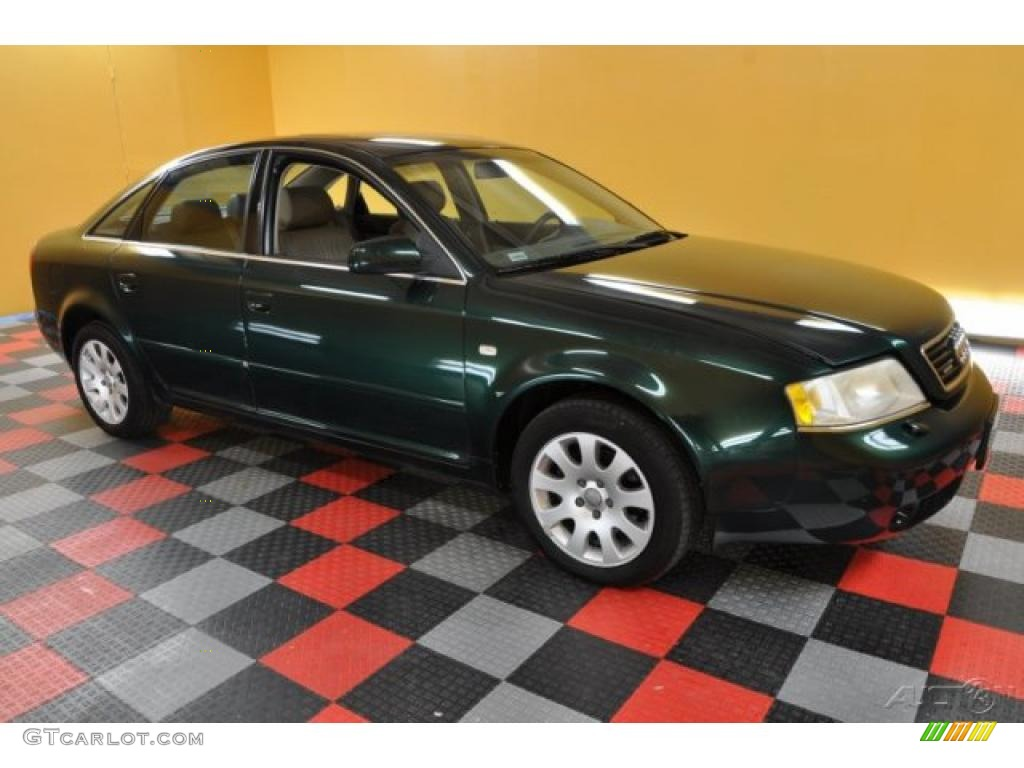 2000 Racing Green Pearl Audi A6 2 8 Quattro Sedan 38076733 Gtcarlot Com Car Color Galleries