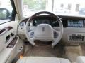2001 Lincoln Town Car Medium Parchment Interior Steering Wheel Photo