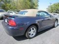 2003 True Blue Metallic Ford Mustang V6 Convertible  photo #3