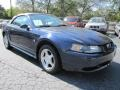 2003 True Blue Metallic Ford Mustang V6 Convertible  photo #4