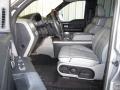 Dove Grey/Black 2007 Lincoln Mark LT Interiors