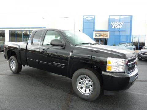 2011 chevrolet silverado 1500 ls extended cab 4x4 data info and specs. Black Bedroom Furniture Sets. Home Design Ideas