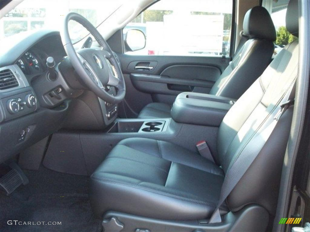 chevrolet avalanche interior ebony - photo #9