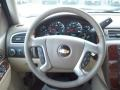 Dark Cashmere/Light Cashmere Steering Wheel Photo for 2011 Chevrolet Silverado 1500 #38106163