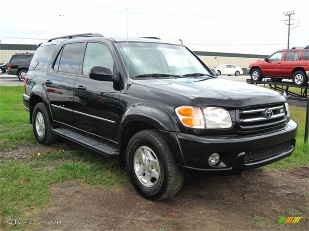 black 2002 toyota sequoia limited exterior photo 38106427 gtcarlot com gtcarlot com