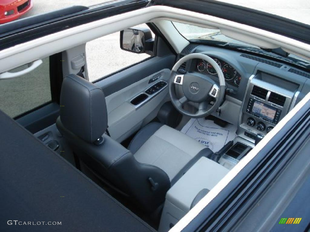 Pastel Slate Gray Interior 2008 Jeep Liberty Limited Photo #38109367 ...