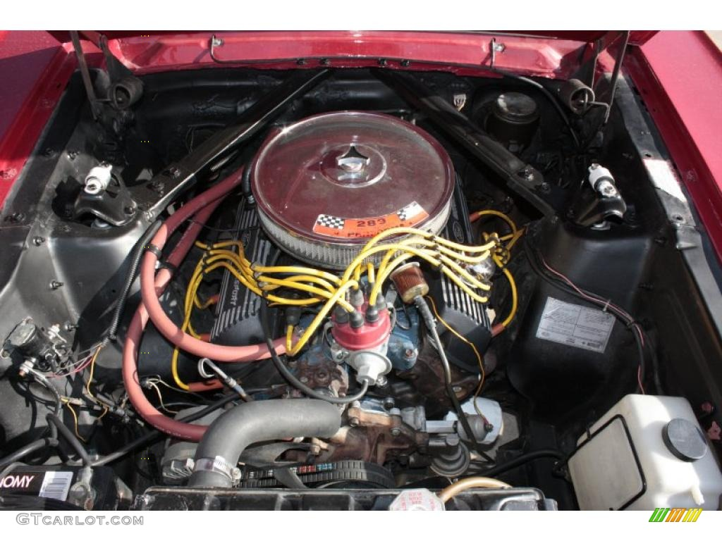 1966 Ford Mustang Fastback 289 V8 Engine Photo #38111603 ...