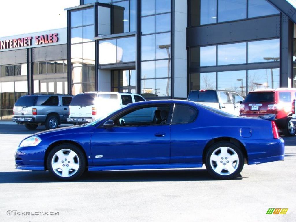 2006 laser blue metallic chevrolet monte carlo ss 38076809 car color galleries. Black Bedroom Furniture Sets. Home Design Ideas