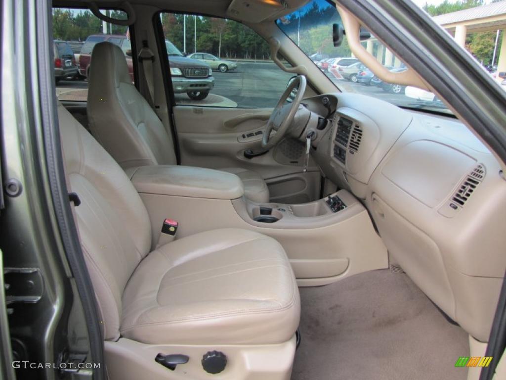 Medium Parchment Interior 2001 Ford Expedition Eddie Bauer Photo 38115703
