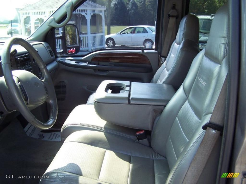 2002 Ford F250 Super Duty Lariat Crew Cab 4x4 Interior