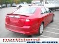 2011 Red Candy Metallic Ford Fusion SEL  photo #6