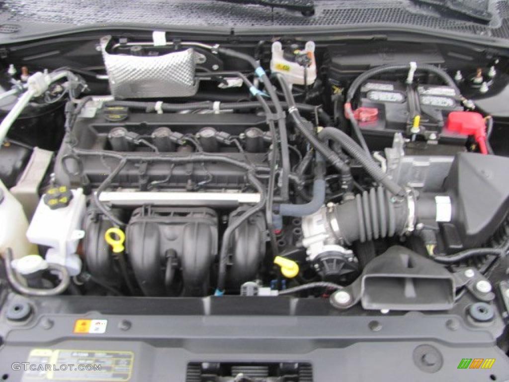 2010 ford focus ses coupe 2 0 liter dohc 16 valve vvt duratec 4 cylinder engine photo 38126013. Black Bedroom Furniture Sets. Home Design Ideas