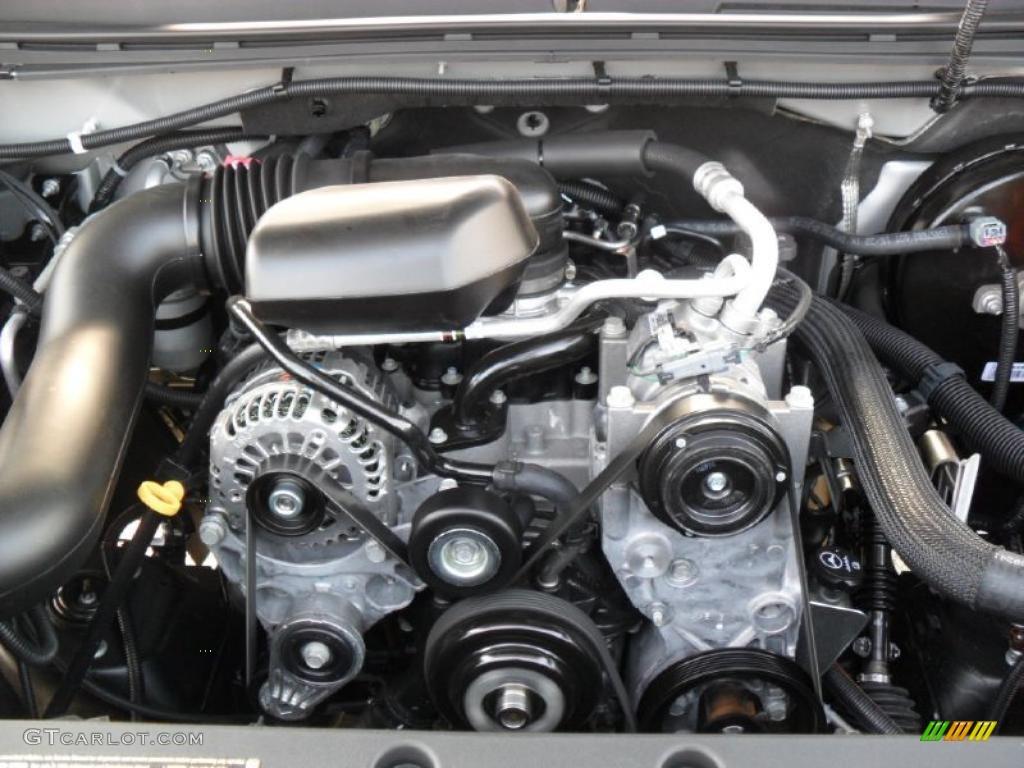 2011 Chevrolet Silverado 1500 Ls Regular Cab 4 3 Liter Ohv