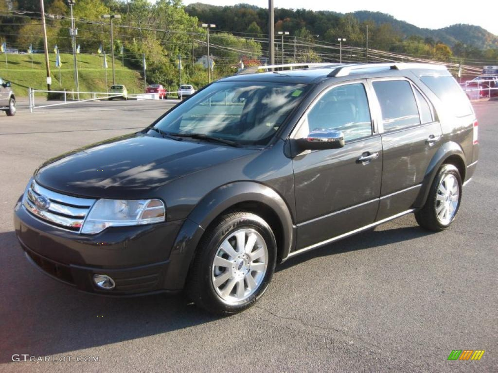 graphite metallic 2008 ford taurus x limited exterior. Black Bedroom Furniture Sets. Home Design Ideas