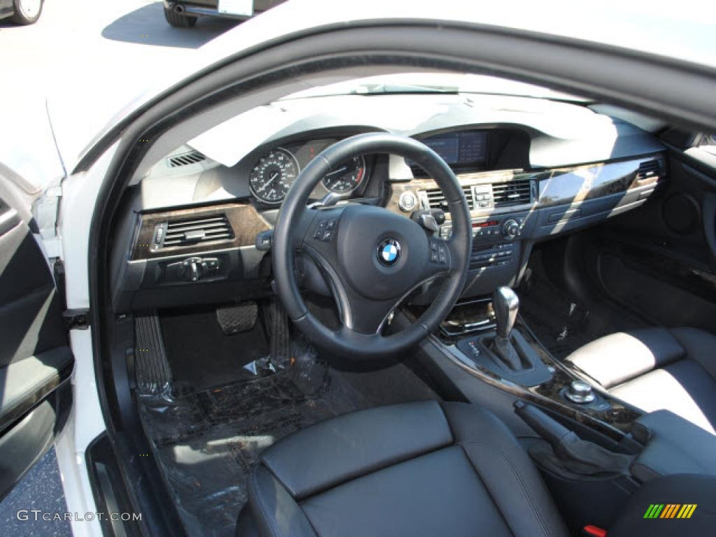 Black Interior BMW Series I Coupe Photo - 2008 bmw 328 coupe