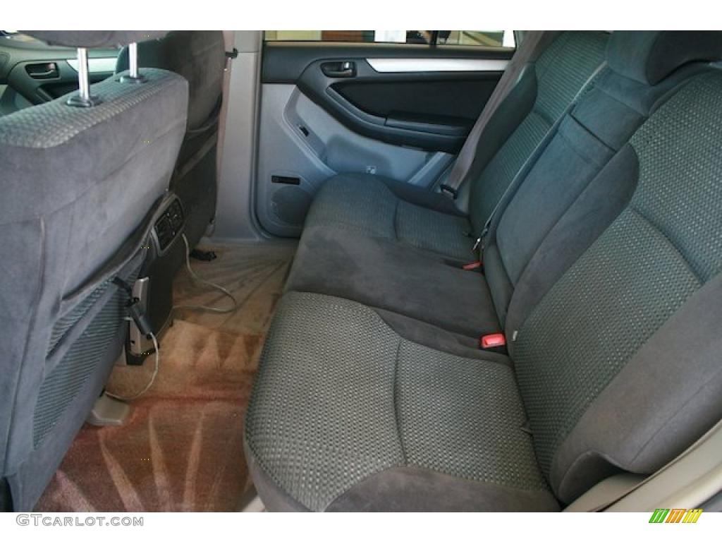 Dark Charcoal Interior 2004 Toyota 4runner Sport Edition 4x4 Photo 38140178
