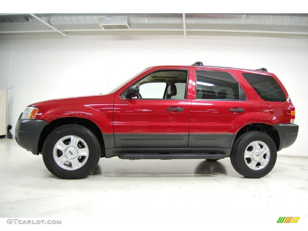 redfire metallic 2003 ford escape xlt v6 exterior photo. Black Bedroom Furniture Sets. Home Design Ideas