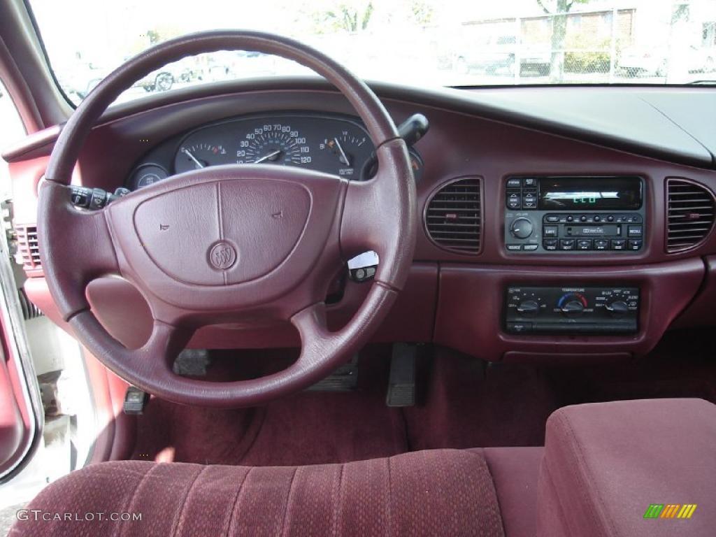 1998 Buick Century Custom Bordeaux Red Dashboard Photo