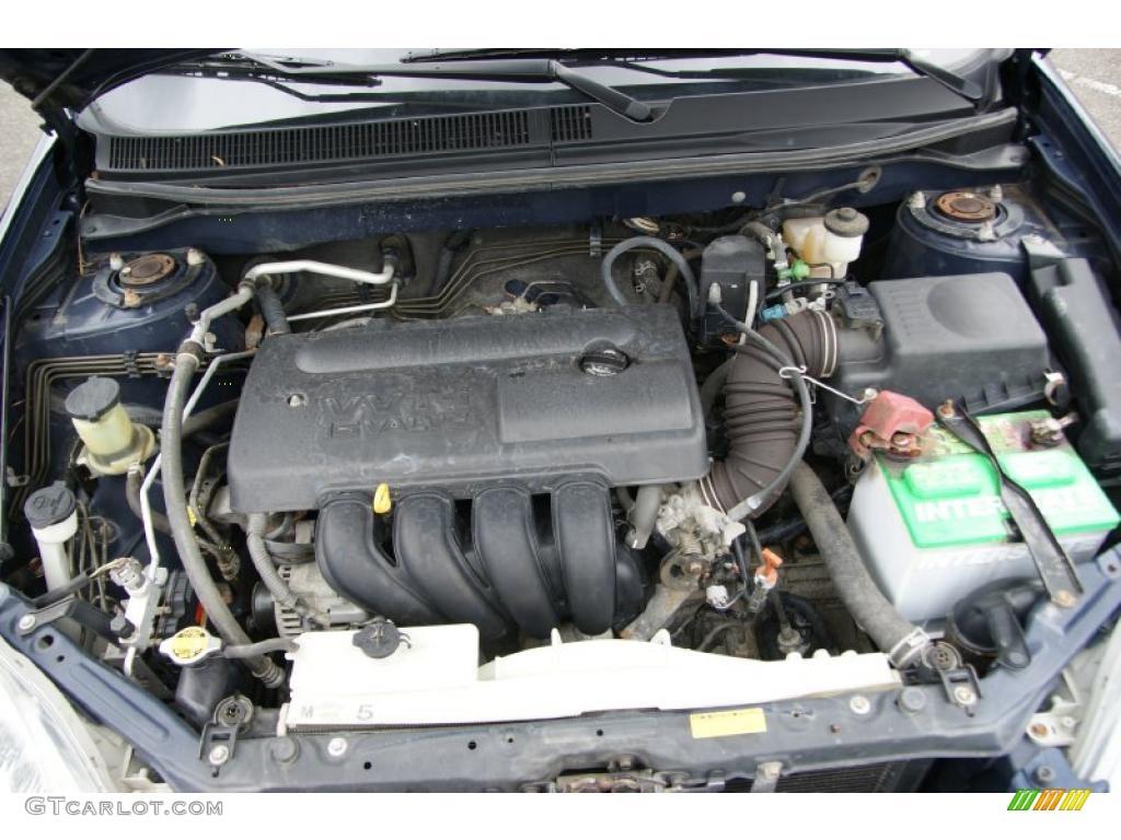 2003 Toyota Matrix Xr Awd 1 8 Liter Dohc 16