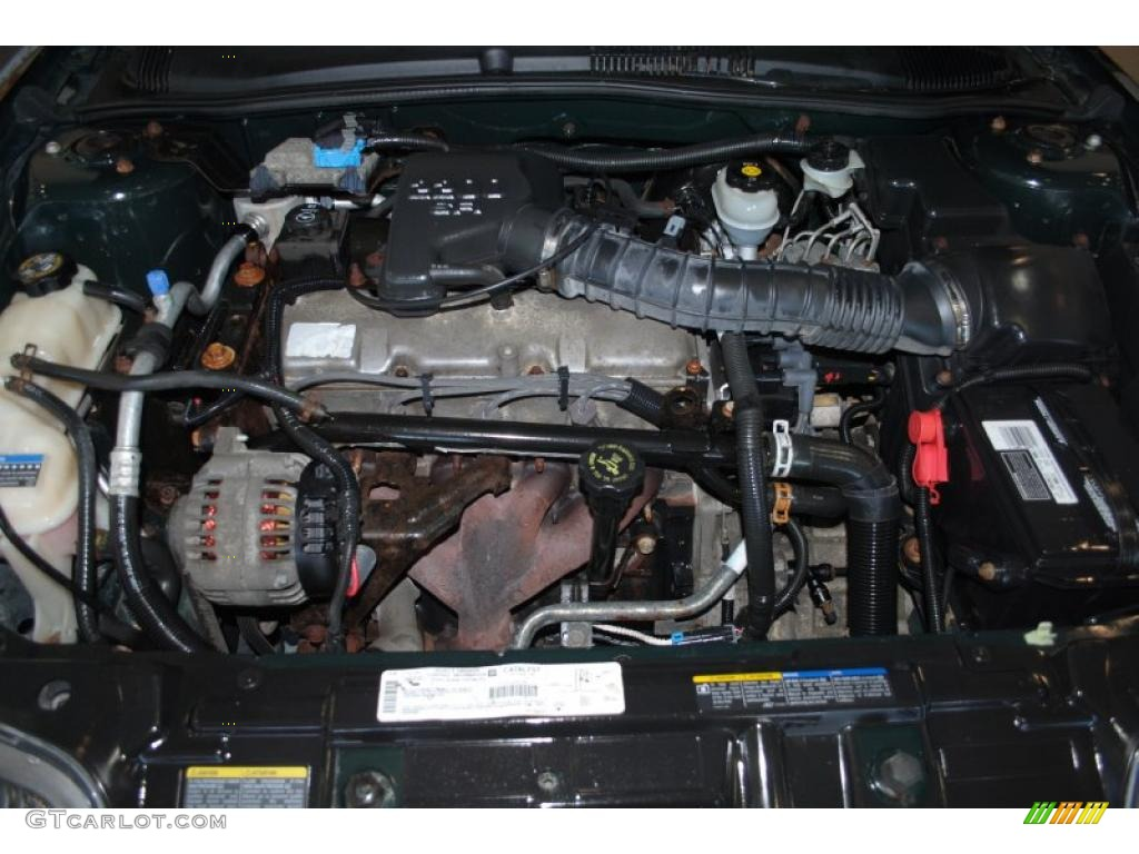 2002 pontiac sunfire se coupe 2 2 liter ohv 8 valve 4 cylinder engine photo 38156417 gtcarlot
