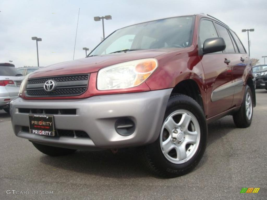 2004 salsa red pearl toyota rav4 4wd 38076266 car color galleries. Black Bedroom Furniture Sets. Home Design Ideas