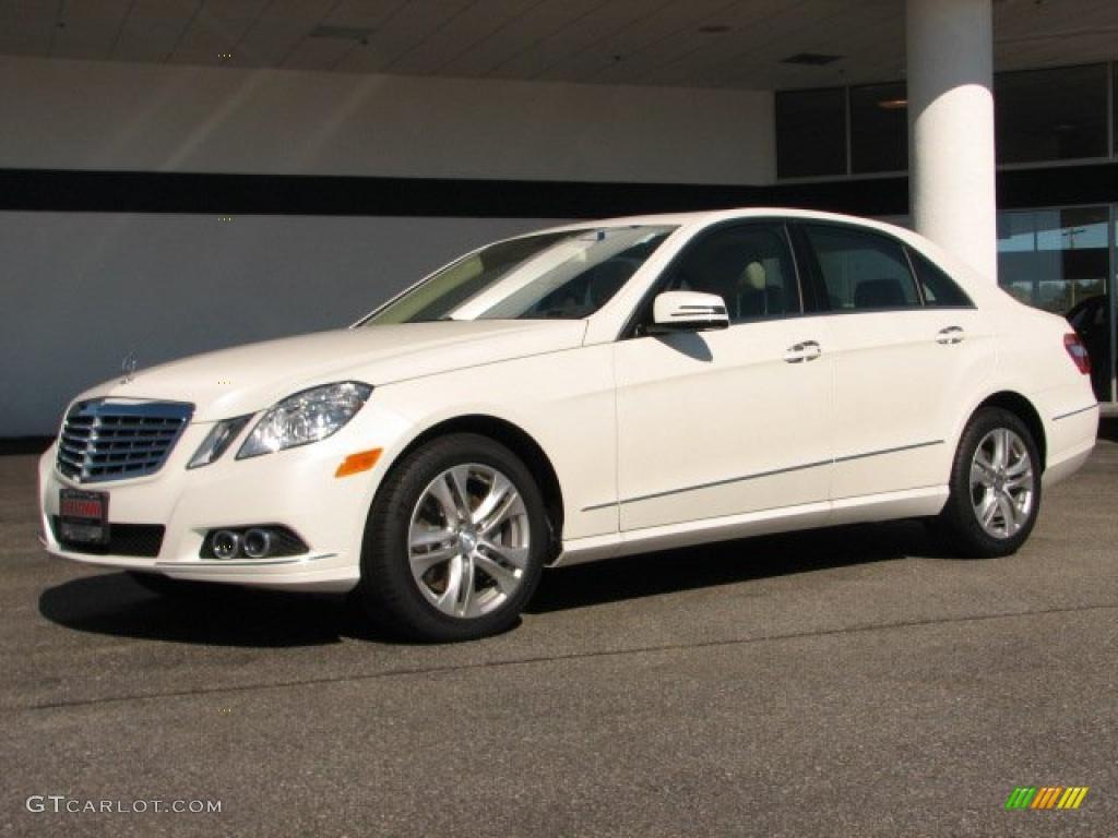 Arctic white 2011 mercedes benz e 350 bluetec sedan for Mercedes benz polar white paint