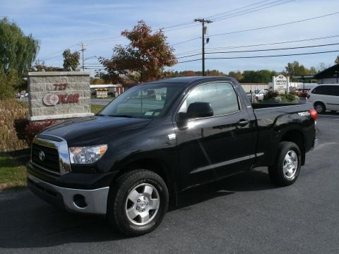 2008 Toyota Tundra TRD Regular Cab 4x4 Data, Info and Specs