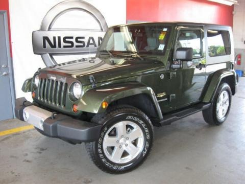 2009 Jeep Wrangler Sahara 4x4 Data, Info and Specs
