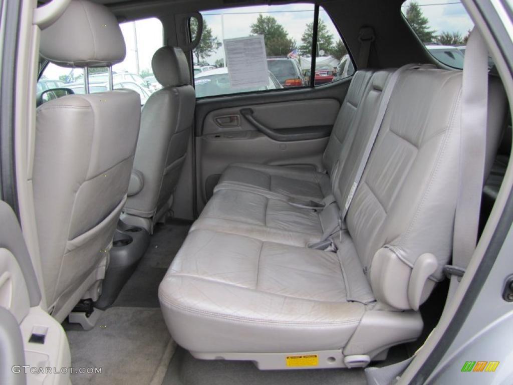 Charcoal Interior 2003 Toyota Sequoia Sr5 Photo 38166018
